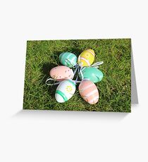 LE00090 - Easter Eggs Greeting Card