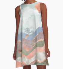 Journey to the Clouds A-Line Dress