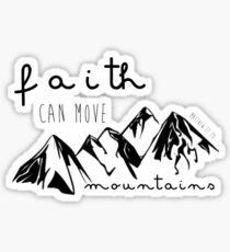 Matthew 17:20 Sticker