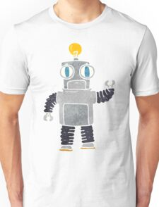 retro cartoon robot Unisex T-Shirt