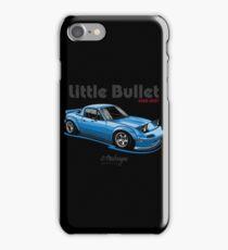 Mazda MX5 Miata (blue)  iPhone Case/Skin