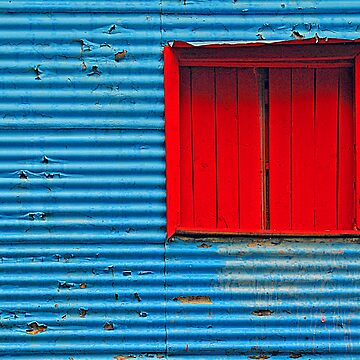 Red Window by Deon