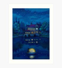 When Marnie was there Art Print