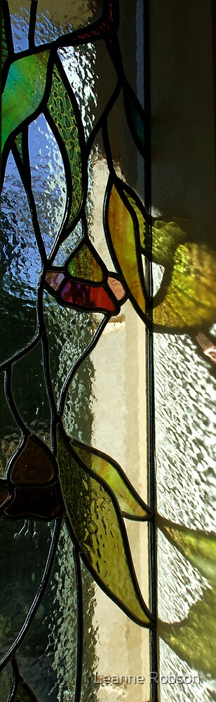 Stained Reflection by Leanne Robson