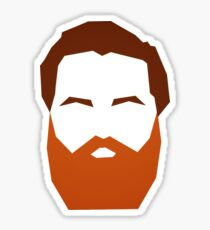Beard Sticker