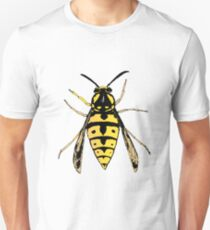 Wasp vector Unisex T-Shirt