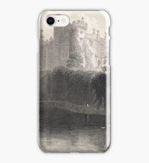 Engraving Kilkenny Castle, Ireland 1841 iPhone Case/Skin