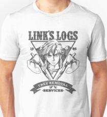 Link's Logs Unisex T-Shirt