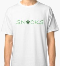 Snacks Green Detail Classic T-Shirt