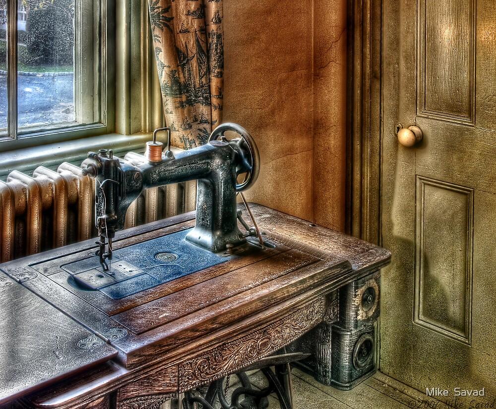 Sewing machine by Michael Savad