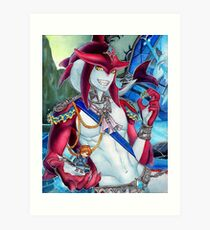 Sidon - Breath of the Wild Art Print