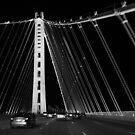San Francisco-Oakland Bay Bridge by Jenn Ramirez