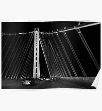 San Francisco-Oakland Bay Bridge Poster