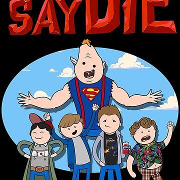 Never Say Die! by riotpixel