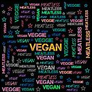 VEGAN or VEGGIE by fuxart