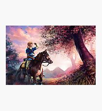 Link - Breath Of The Wild Photographic Print
