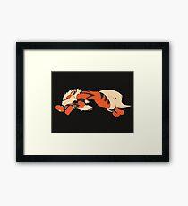 Cool Running Arcanine  Framed Print