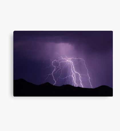 Electrical Storm Canvas Print
