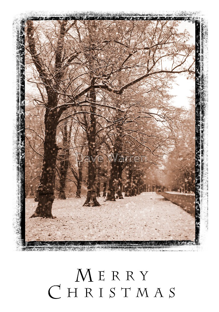 Christmas Card 2 by Dave Warren