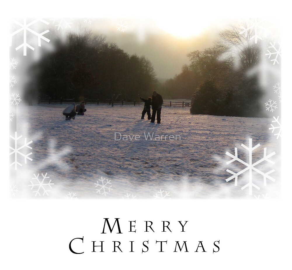Christmas Card 4 by Dave Warren