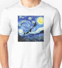 Peter Pan Starry Night Unisex T-Shirt