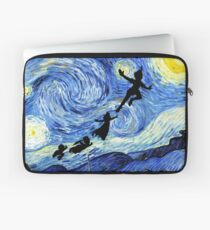 Peter Pan Starry Night Laptop Sleeve