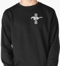 Classic Retro Ford Mustang Emblem  Pullover