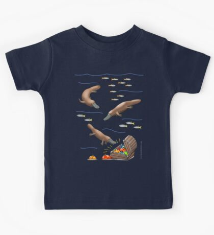 Platypus and Christmas Treasure Kids Clothes