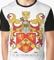 Butterworth Coat of Arms Graphic T-Shirt