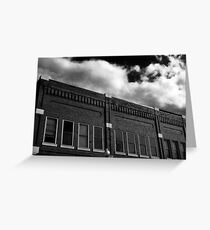 Hometown Collection- Brick Building Greeting Card