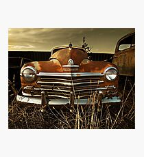 Abandoned 1947 Plymouth Special Deluxe Photographic Print