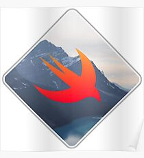 Swift Programming Sticker Poster