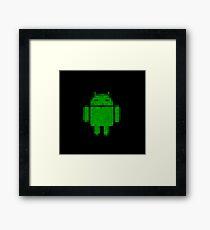 PixelatedDroid Framed Print
