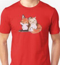 FOX AND OWL BUDDIES T-Shirt