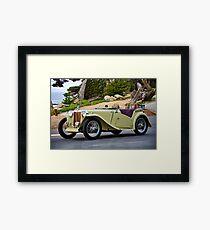 1948 MG TC Roadster III Framed Print