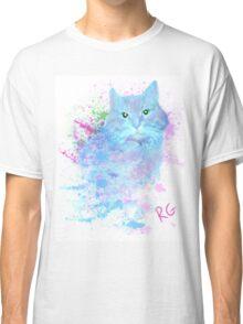 Blue Kitty Classic T-Shirt