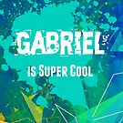 Gabriel is Super Cool by Nadine Staaf