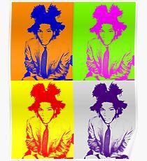 The Radiant Child: Basquiat Poster