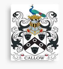 Callow Coat of Arms Canvas Print