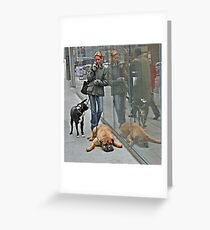 Another Doggone Phone Call Greeting Card