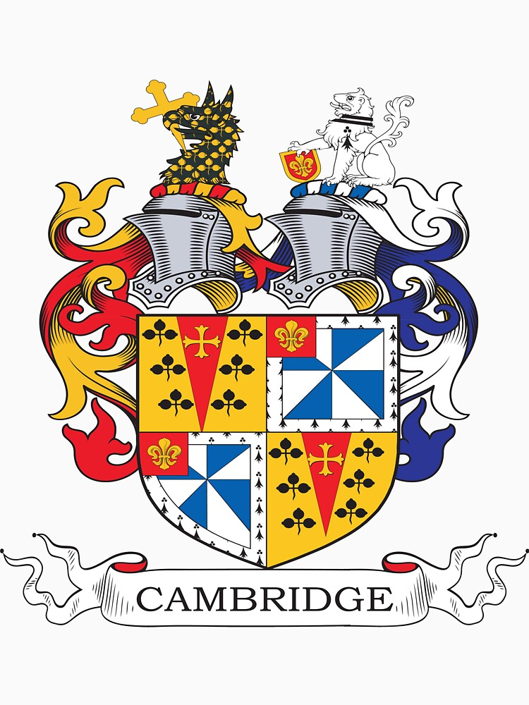 Cambridge Coat of Arms by heraldrydesigns