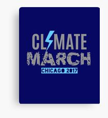 Climate March Chicago Canvas Print