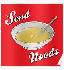 Send Noods Poster