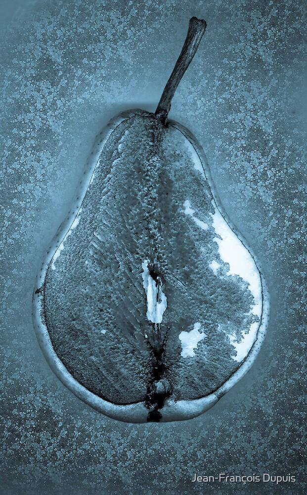 Blue pear by Jean-François Dupuis