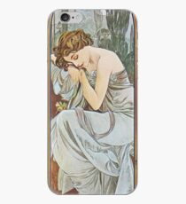 Alphonse Mucha - Nocturnal Slumber iPhone Case