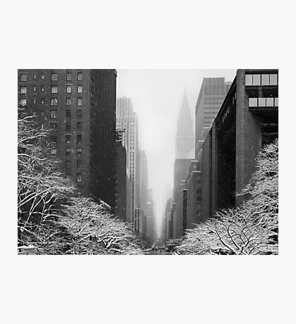 New York - 42nd street Photographic Print