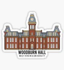 Woodburn Hall - West Virginia University Sticker