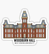 Woodburn Hall - West Virginia University Sticker