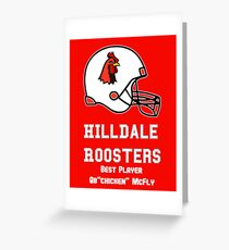 hilldale rooster Greeting Card