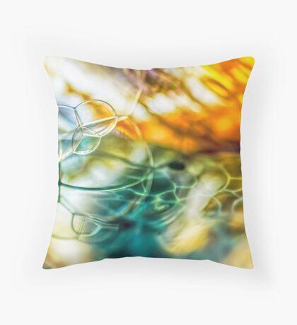 Thread of Light Throw Pillow